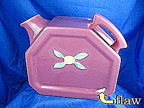 COORs Pottery Pink  Rosebud  Water Pitcher (Image1)