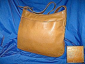 Coach Leather Shoulder Handbag Purse (Image1)