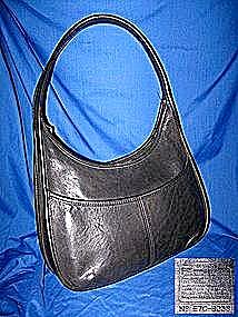Coach Hobo Black Leather Bag (Image1)