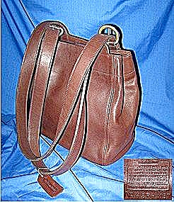 Coach Dark Brown Leather Bag (Image1)
