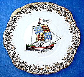 Bone China Duchess England - English Ship 1300 (Image1)