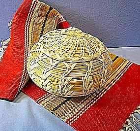 Papago Indian basket Tohono O'odham basket (Image1)