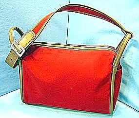 Anne Klein Red Handbag - large (Image1)