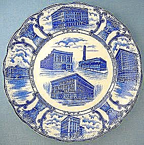 Staffordshire YMCA plate - F. Winkel & Co (Image1)
