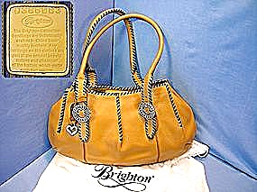 Brighton Handbag, Large Hobo, Caramel