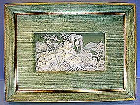 Porcelain Velvet Releif Fine Art Picture (Image1)