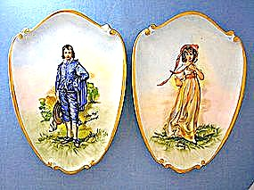 Gainsborough - Blue Boy & Lawrence - Pinky plaques (Image1)