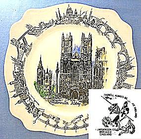 Westminster Abbey A.J. Wilkinson Plate (Image1)