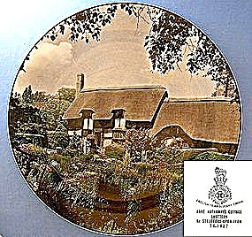 Royal Doulton, Anne Hathaway's Cottage plate (Image1)