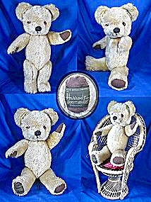 HarrodsTeddy Bear Merry Thoughts  England (Image1)