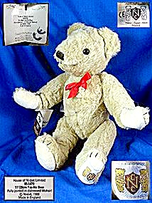Nisbet Yes - No Teddy bear 1988 made in England (Image1)