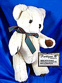 Plush Teddy Bear - Prettique - (Image1)