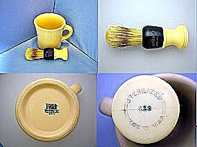 Shenango Mug And Shaving Brush Vintage