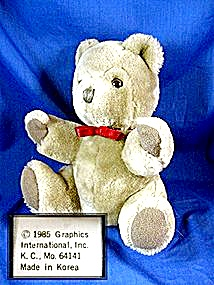 1985 Teddy Bear, By Graphics International