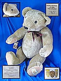 Large Nisbet limited edition Teddy Bear (Image1)