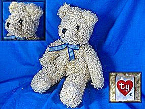 TY golden 11 inch plush teddy bear (Image1)