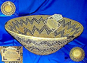 Shalimar handwoven Basket Pakistan Large (Image1)