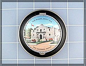 Compact The Alamo San Antonio TX Souvenir  (Image1)