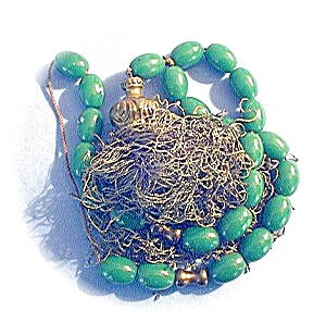Amber Green  Prayer Worry Beads &Tassle   (Image1)