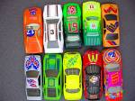 Click to view larger image of Lot #2 - 10 Diecast, Hot Wheels style toy vehicles (Image3)