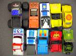 Click to view larger image of Lot #3 - 10 Diecast, Hot Wheels style toy vehicles (Image3)