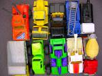 Click to view larger image of Lot #17 - 10 Diecast, Hot Wheels style toy vehicles (Image3)