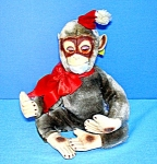 Childs Chrismas Vintage  Monkey 10 Inch Character