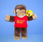 Click to view larger image of Curious George hand puppet  by GUND 12 Inch (Image1)