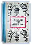 Click here to enlarge image and see more about item 0103200603: THROUGH THE LOOKING-GLASS - HARD BACK BOOK