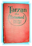 Click here to enlarge image and see more about item 0103200614: TARZAN THE UNTAMED - HARD BACK BOOK.....