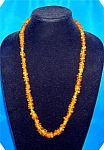 Golden Amber Nugget Necklace
