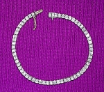 Click here to enlarge image and see more about item 0106200809: Bracelet Platinum and Diamond 3 Ct Tennis
