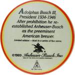 Click to view larger image of 1989 Anheuser Busch Post Convention Heritage Series Ste (Image8)
