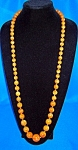 39 Inch Long Graduated Plastic/Lucite Beads