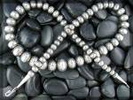 Necklace Sterling Silver American Indian Navajo Pearls