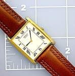 SEIKO quartz men's dress watch . .  .