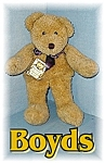 Click here to enlarge image and see more about item 0116200555: Boyds Bear Bears In The Attic 12 Inch
