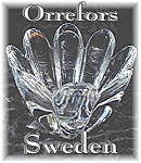 Click here to enlarge image and see more about item 0116200566:  ORREFORS Signed & Numbered Candy Dish