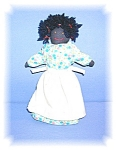 Click here to enlarge image and see more about item 01162006119: Doll Folk Art  Black  Rag Doll Circa 1930