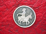 Click to view larger image of Sterling Silver Man On Donkey Brooch Pin GINA Turkey (Image1)