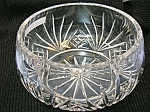 CrystalCut Glass  Bowl heavy deep cut . . .