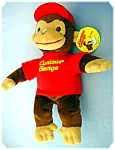 Click here to enlarge image and see more about item 0122200803: CURIOUS GEORGE by GUND . . style 7533  . . . .