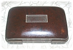 Click here to enlarge image and see more about item 0124200414: Vintage Hickok Bakelite Trinket Box