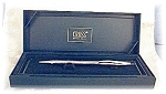 Click here to enlarge image and see more about item 0124200422: Silver Chrome Cross Pen In Original Box