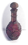 Avon Ruby Red Glass Cape Coed Decanter