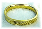 Click here to enlarge image and see more about item 0129200505: Dec 26 05 Gold Fill Bates & B Bangle Bracelet