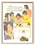 Click here to enlarge image and see more about item 0129200525: 1930's Magazine Palmolive Print Dion Quins