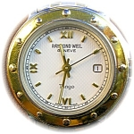 Click to view larger image of Raymend  WEIL Tango Ladies Gold and Stainless  Watch (Image1)