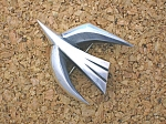 Click to view larger image of JAMES AVERY Sterling Silver Bird Retired Brooch (Image1)