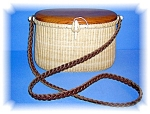 Nantucket B arlow Basket Woven Leather Strap